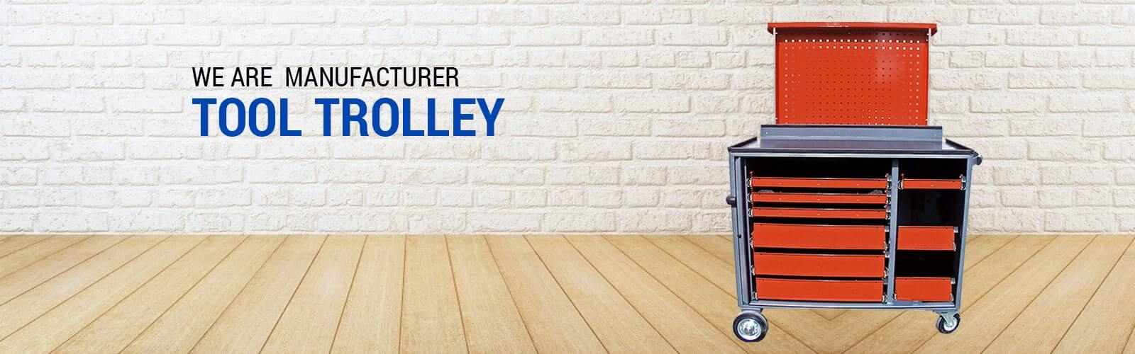 Tool Trolley Manufacturer in Ahmedabad from India