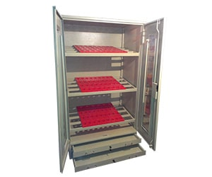 Tool Cupboard with Perforated Panel